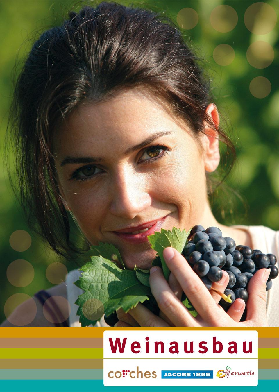 Cover der Corches Broschüre Weinausbau